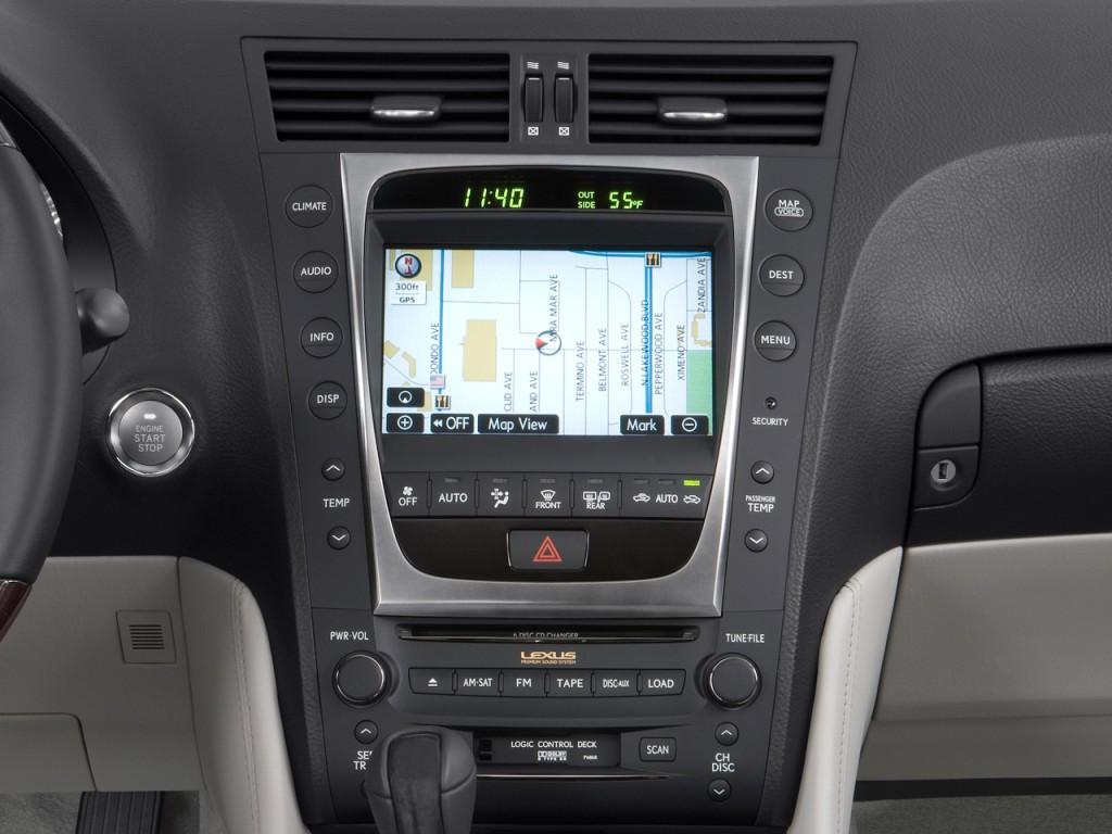 image 2008 lexus gs 350 4 door sedan rwd instrument panel. Black Bedroom Furniture Sets. Home Design Ideas