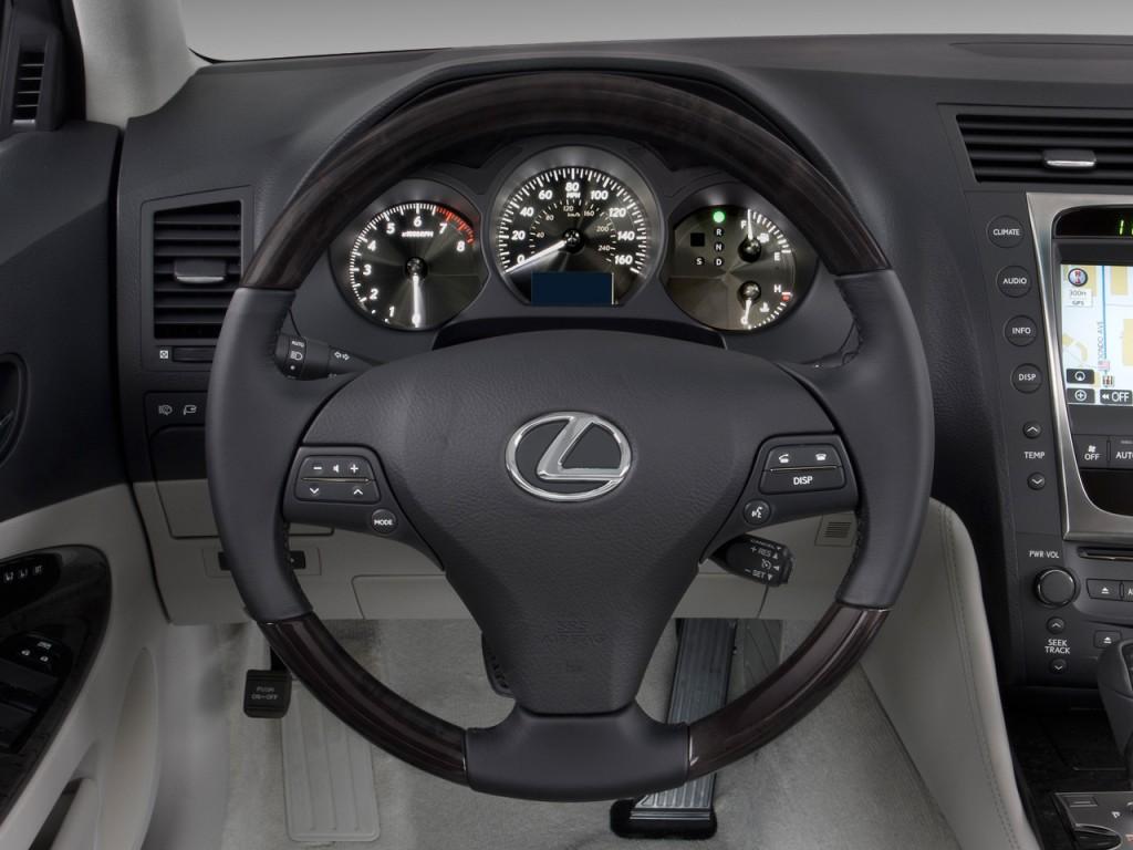 image: 2008 lexus gs 350 4-door sedan rwd steering wheel, size