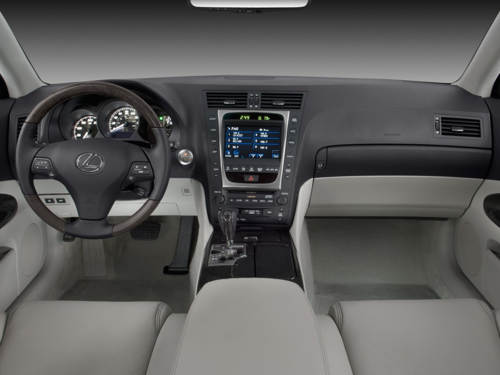 Image: 2008 Lexus GS 450h 4-door Sedan Hybrid Dashboard, size: 1024 ...