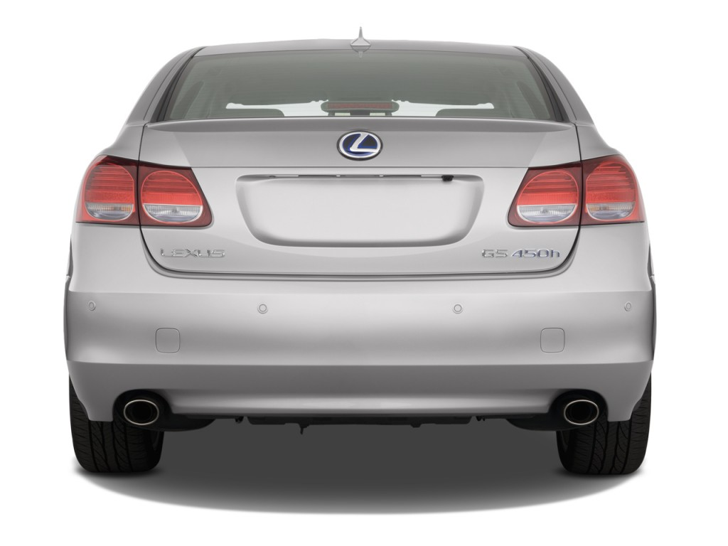Image 2008 Lexus Gs 450h 4 Door Sedan Hybrid Rear