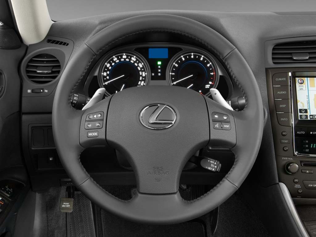Image: 2008 Lexus IS 250 4-door Sport Sedan Man RWD ...