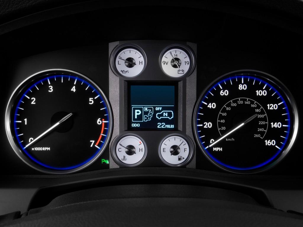Image: 2008 Lexus LX 570 4WD 4-door Instrument Cluster ...