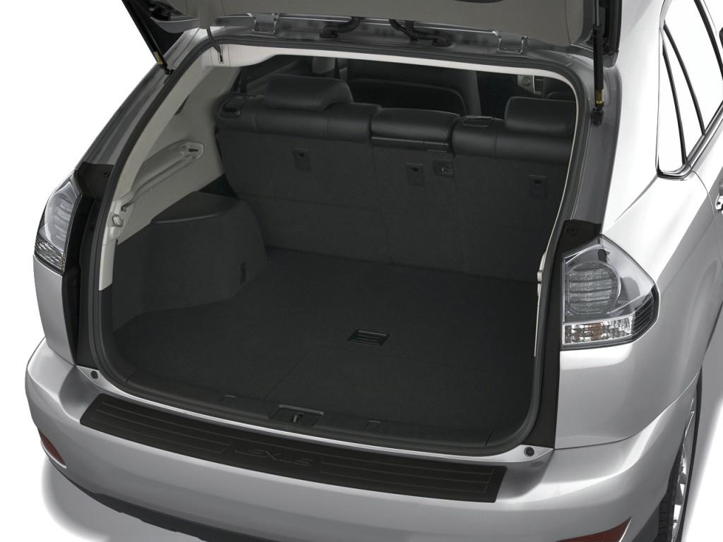 2008 lexus rx 400h fwd 4 door hybrid trunk