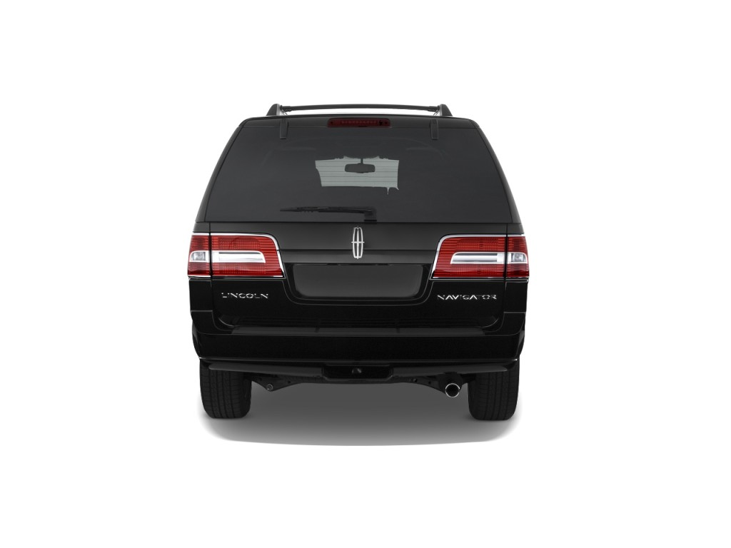 Image 2008 Lincoln Navigator L 4wd 4 Door Rear Exterior View Size 1024 X 768 Type Gif