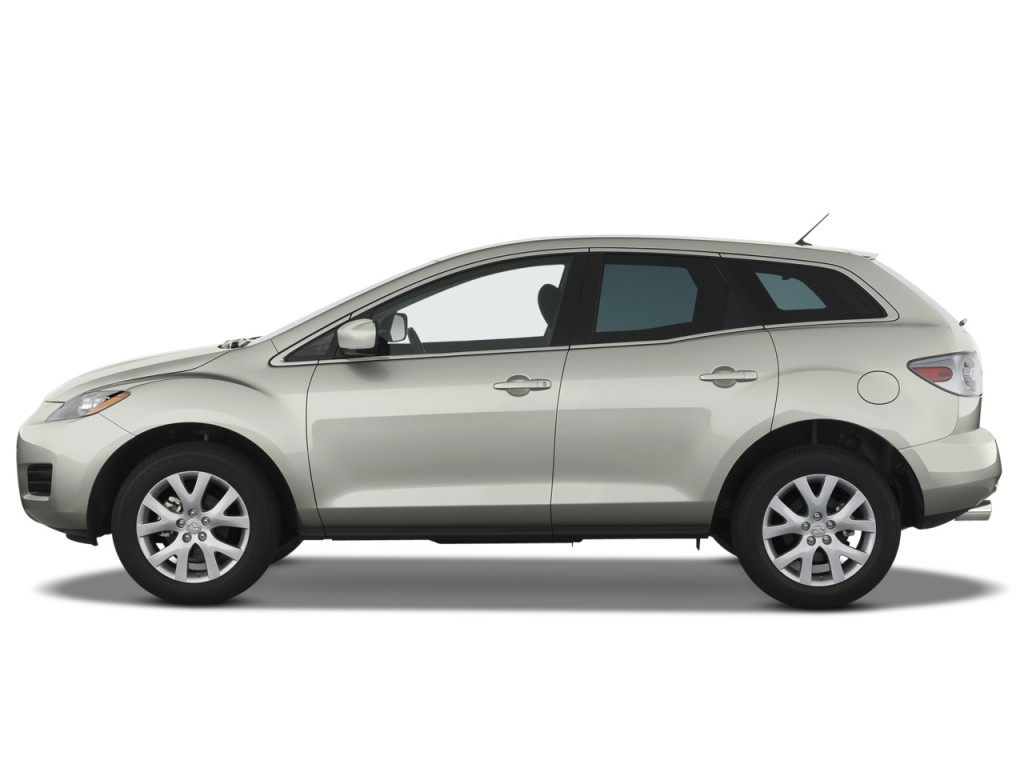 Image 2008 Mazda Cx 7 Fwd 4 Door Sport Side Exterior View Size 1024 X 768 Type Gif Posted