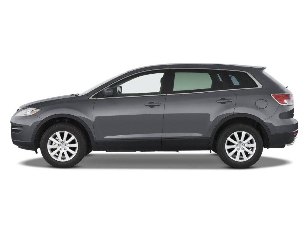 2008 Mazda CX 9 FWD 4 Door Sport Side Exterior View