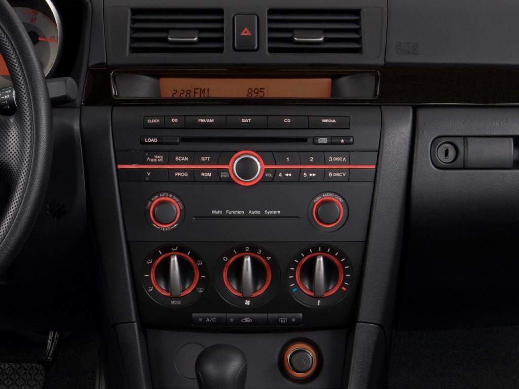 2008 mazda mazda3 4 door sedan auto s touring instrument panel