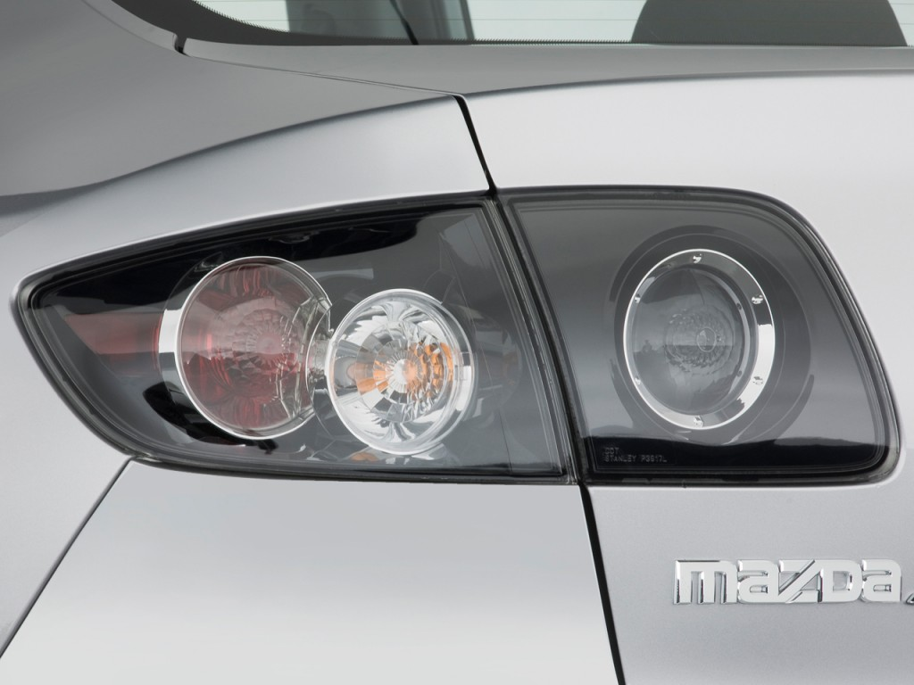 Image 2008 Mazda Mazda3 4 Door Sedan Auto S Touring Tail