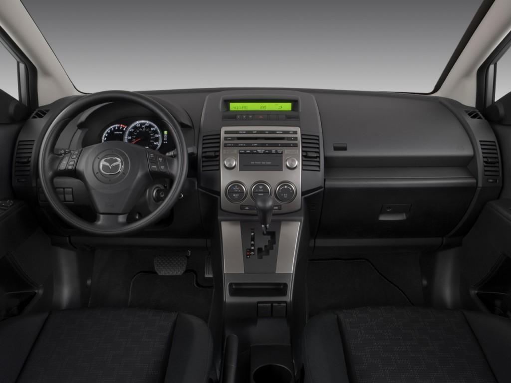Image 2008 Mazda Mazda5 4 Door Wagon Auto Sport Dashboard