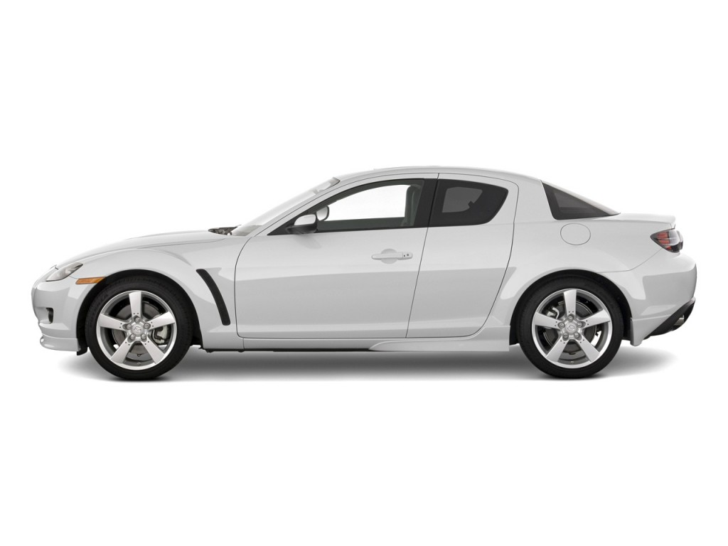 Image 2008 Mazda Rx 8 4 Door Coupe Auto Grand Touring Side Exterior View Size 1024 X 768