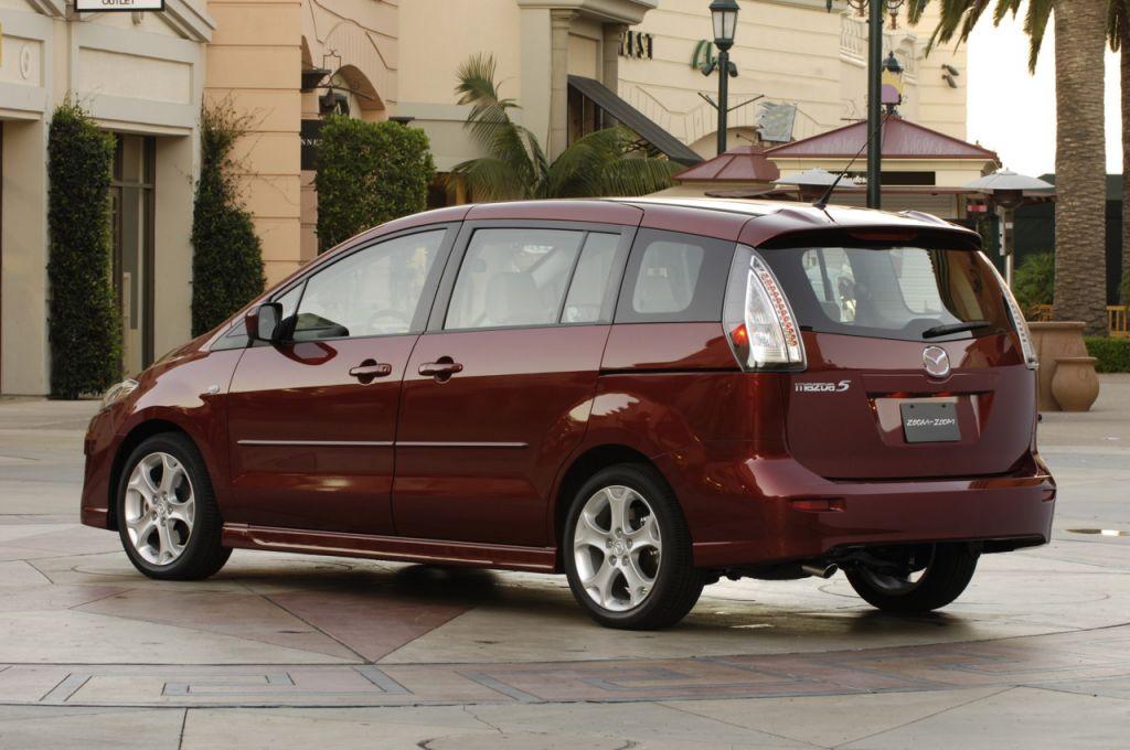 A Fan of the Minivan - The Mazda5