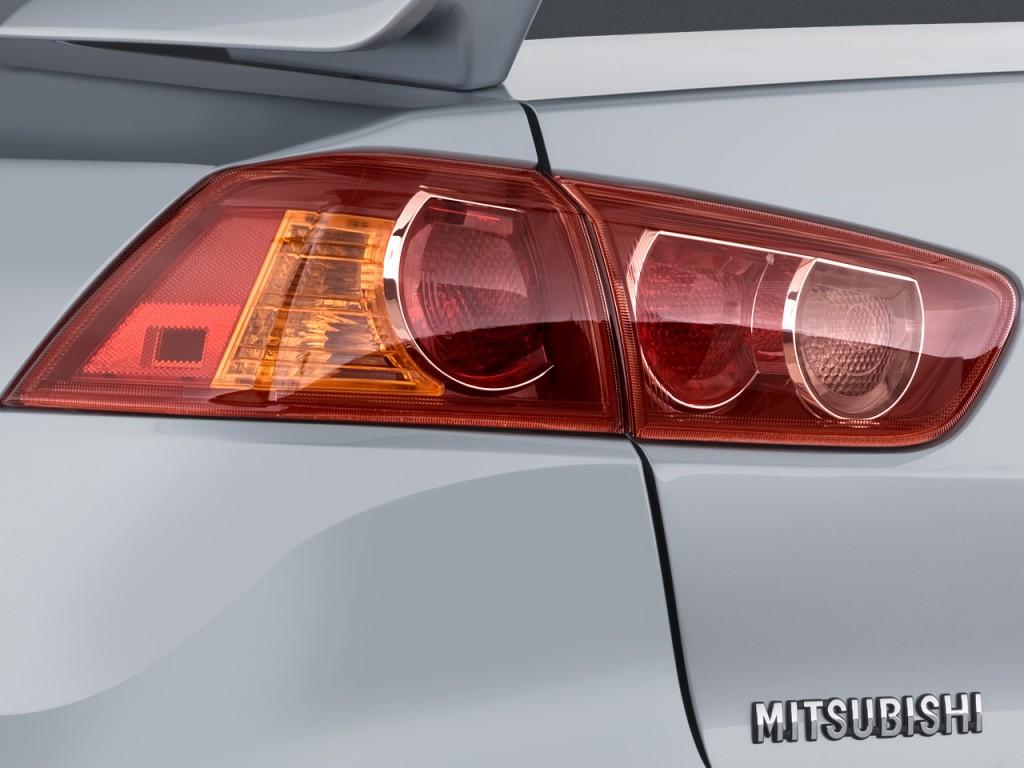 Image: 2008 Mitsubishi Lancer 4-door Sedan CVT GTS Tail ...