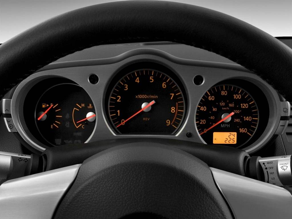 Nissan Rogue Select >> Image: 2008 Nissan 350Z 2-door Coupe Man Instrument ...