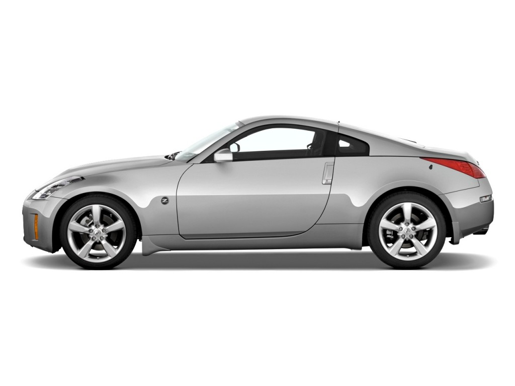 Image: 2008 Nissan 350Z 2-door Coupe Man Side Exterior ...