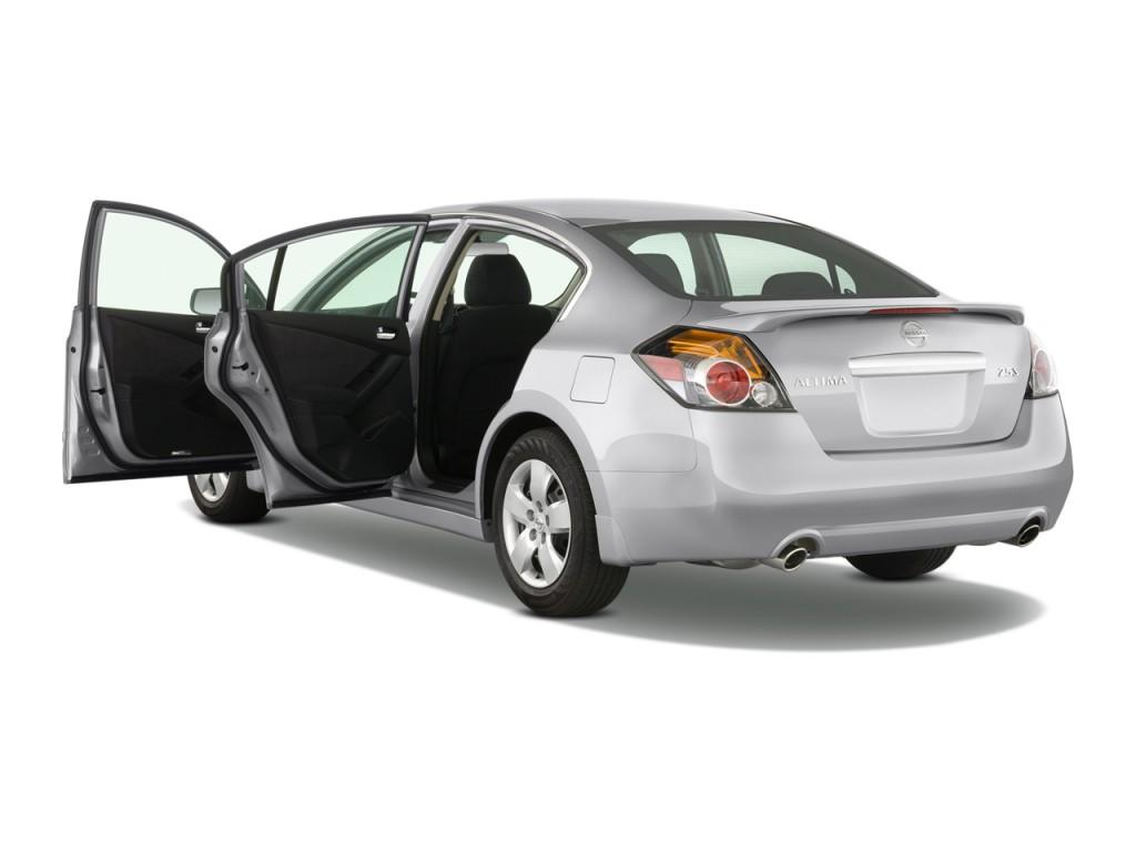 Image 2008 Nissan Altima 4 Door Sedan I4 Cvt S Open Doors