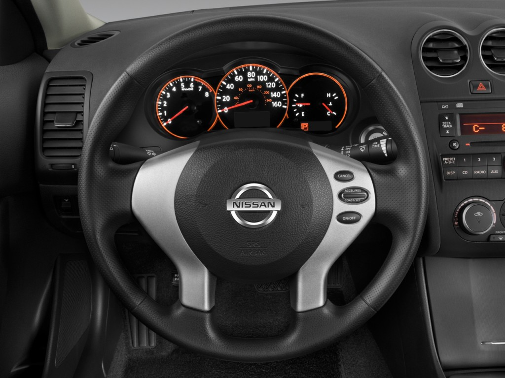 Nissan Altima Door Sedan I Cvt S Steering Wheel L