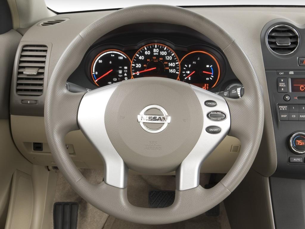 2 Door Altima >> Image: 2008 Nissan Altima Hybrid 4-door Sedan I4 eCVT Hybrid Steering Wheel, size: 1024 x 768 ...