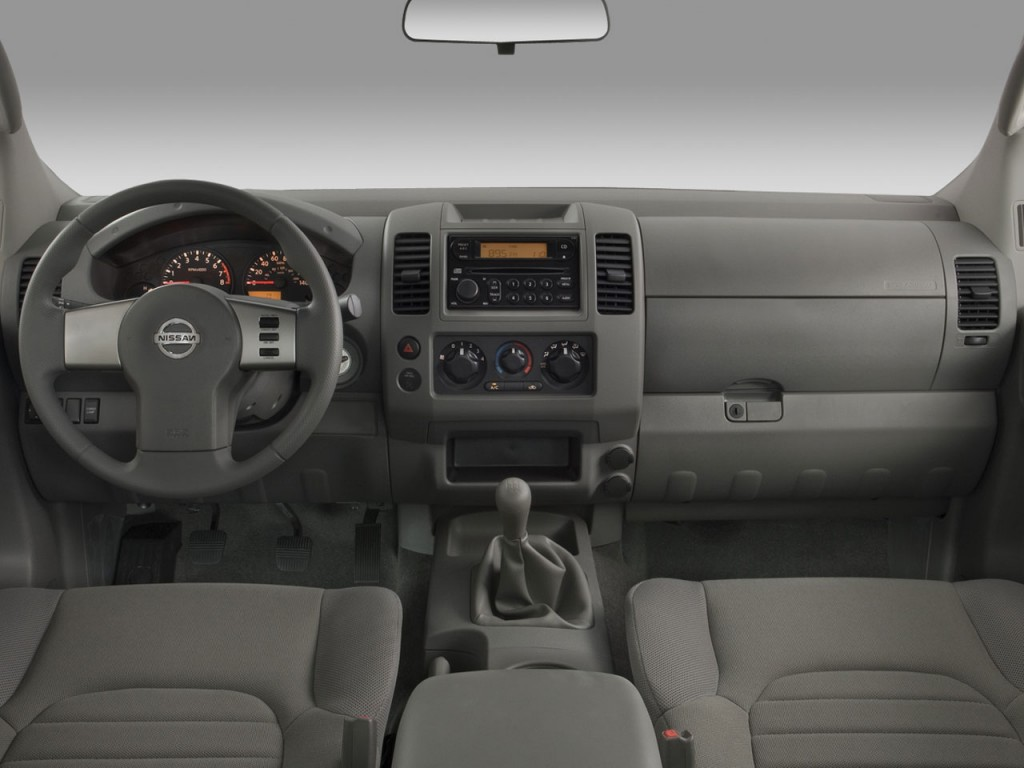 image 2008 nissan frontier 2wd king cab i4 man xe dashboard size 1024 x 768 type gif. Black Bedroom Furniture Sets. Home Design Ideas