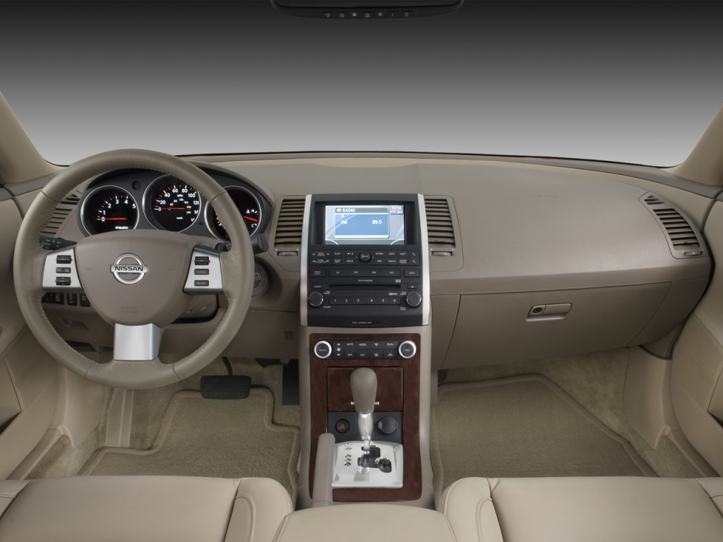 Image 2008 Nissan Maxima 4 Door Sedan Sl Dashboard Size 1024 X