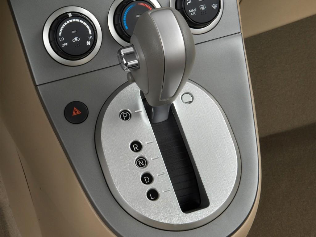 Image: 2008 Nissan Sentra 4-door Sedan CVT 2.0 Gear Shift ...