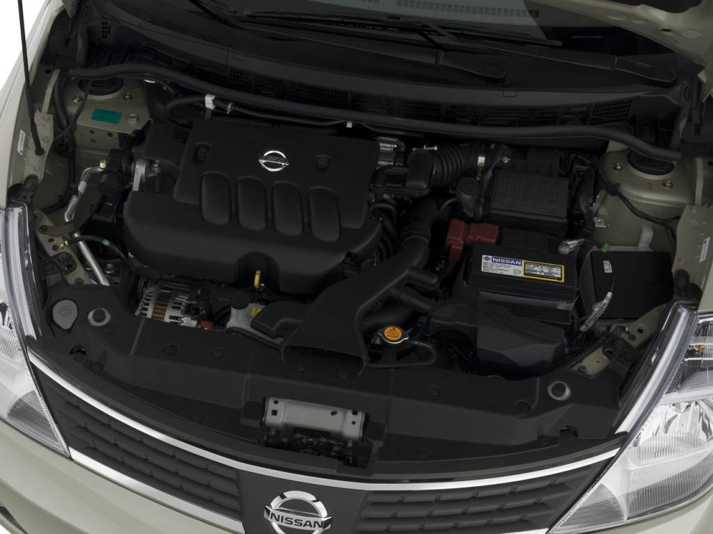 Image: 2008 Nissan Versa 4-door Sedan Auto S Engine, size ...