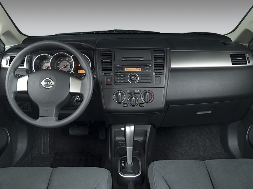 Image: 2008 Nissan Versa 5dr HB Auto S Dashboard, size: 1024 x 768 ...
