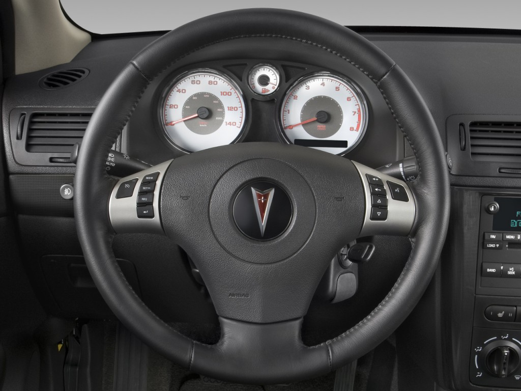 Image: 2008 Pontiac G5 2-door Coupe GT Steering Wheel ...