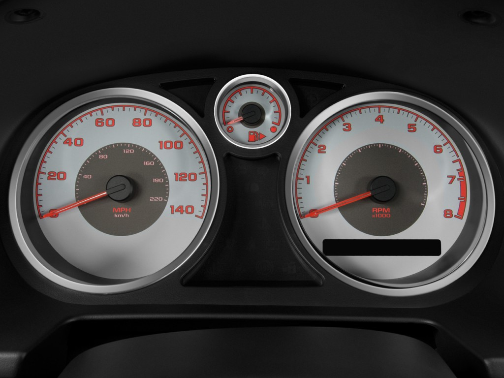 Image 2008 Pontiac G5 2 Door Coupe Instrument Cluster