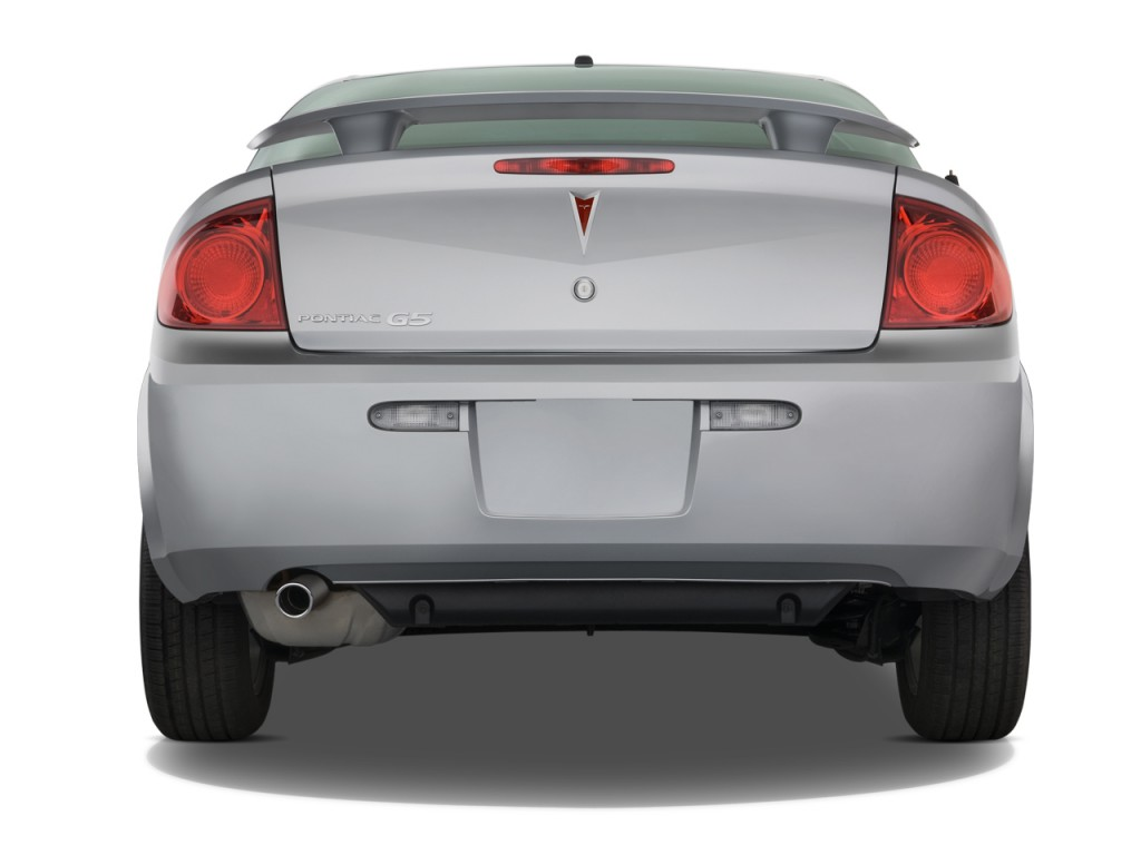 Image 2008 Pontiac G5 2 Door Coupe Rear Exterior View Size 1024 X 768 Type Gif Posted On