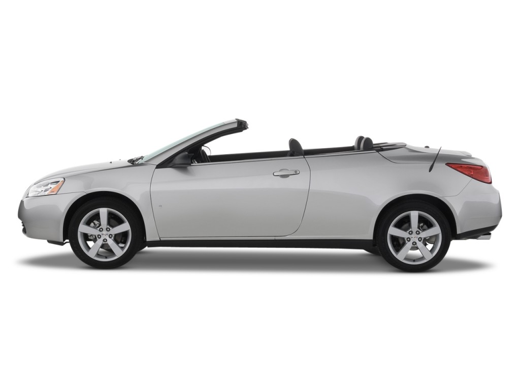 Image 2008 Pontiac G6 2 Door Convertible Gt Side Exterior