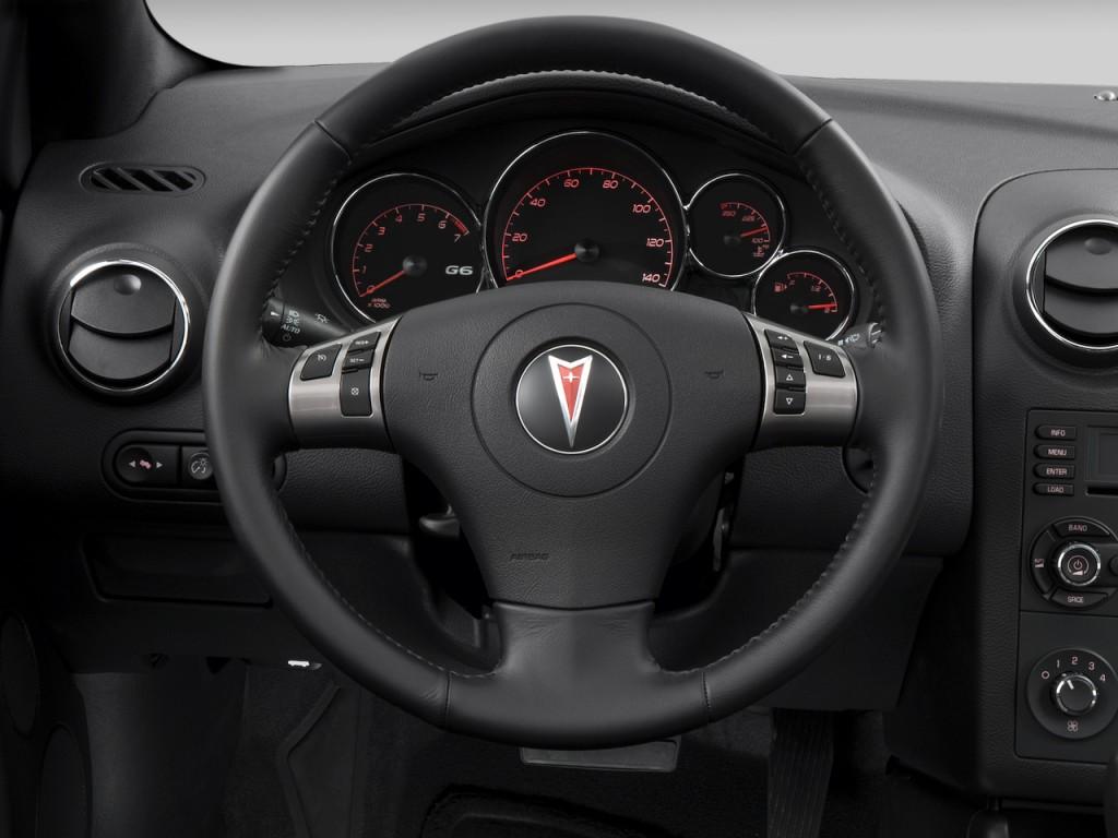 Image 2008 Pontiac G6 2 Door Convertible Gt Steering