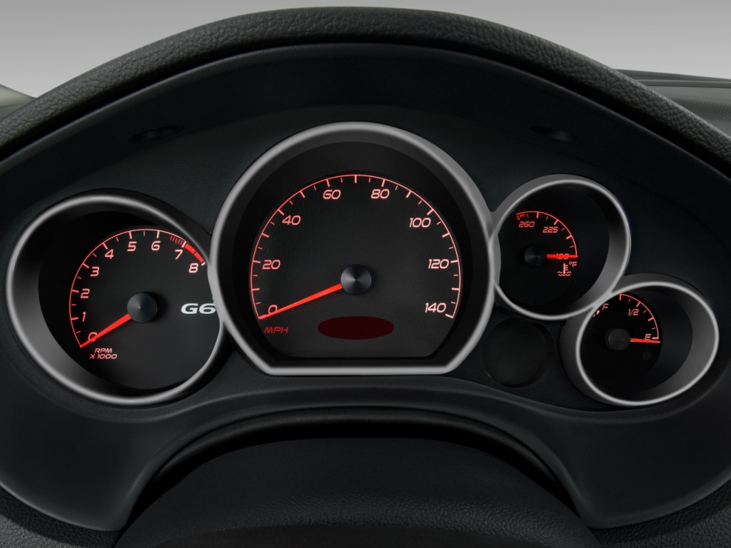 Image 2008 Pontiac G6 2 Door Coupe Gxp Instrument Cluster