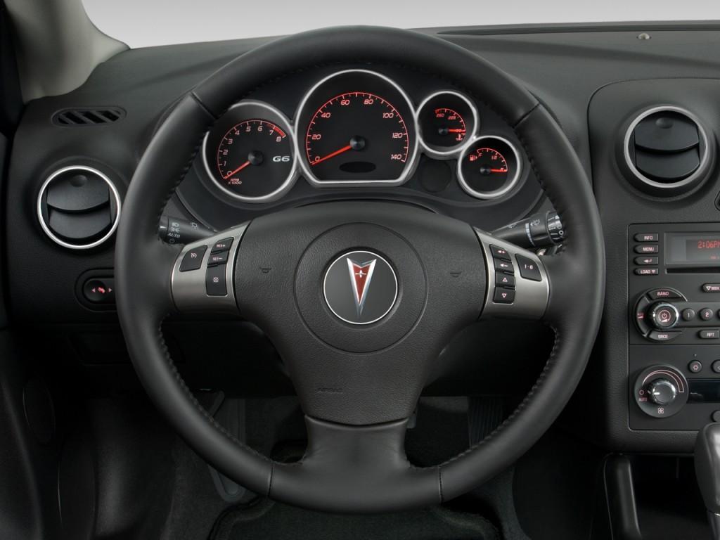 Image 2008 Pontiac G6 2 Door Coupe Gxp Steering Wheel