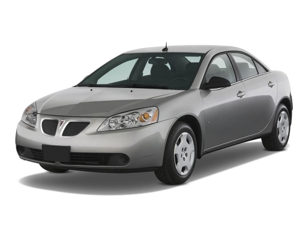 Image 2008 Pontiac G6 4 Door Sedan 1sv Value Leader Angular Front Exterior View Size 1024 X