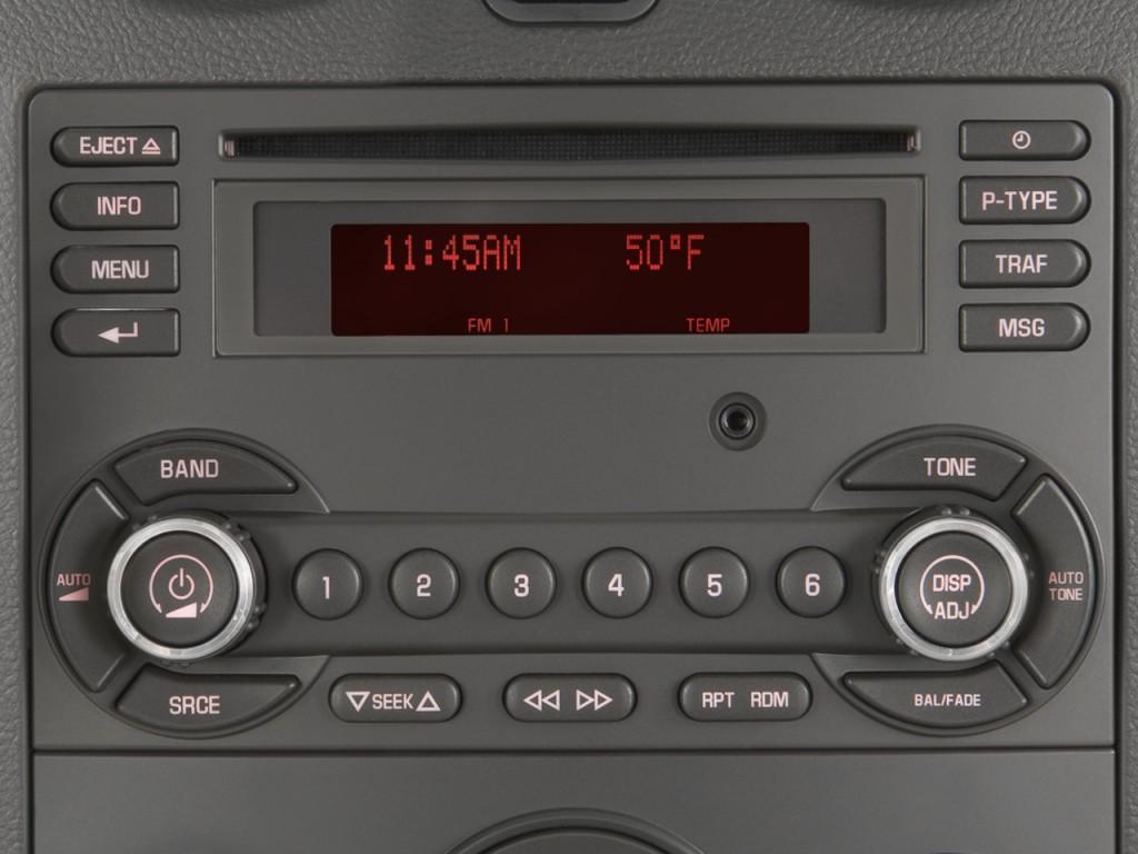 2008 Pontiac G6 4 Door Sedan 1SV Value Leader Audio System