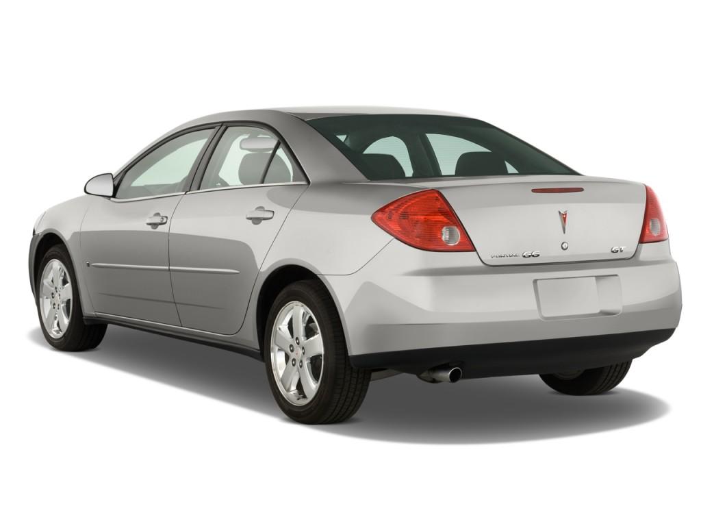 image 2008 pontiac g6 4 door sedan gt angular rear. Black Bedroom Furniture Sets. Home Design Ideas