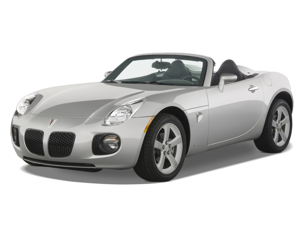 2 Door Convertible >> Image 2008 Pontiac Solstice 2 Door Convertible Gxp Angular Front