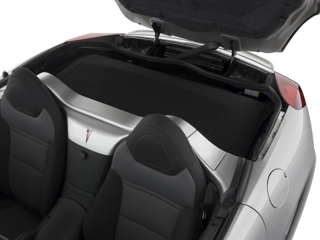 Image: 2008 Pontiac Solstice 2-door Convertible Trunk ...