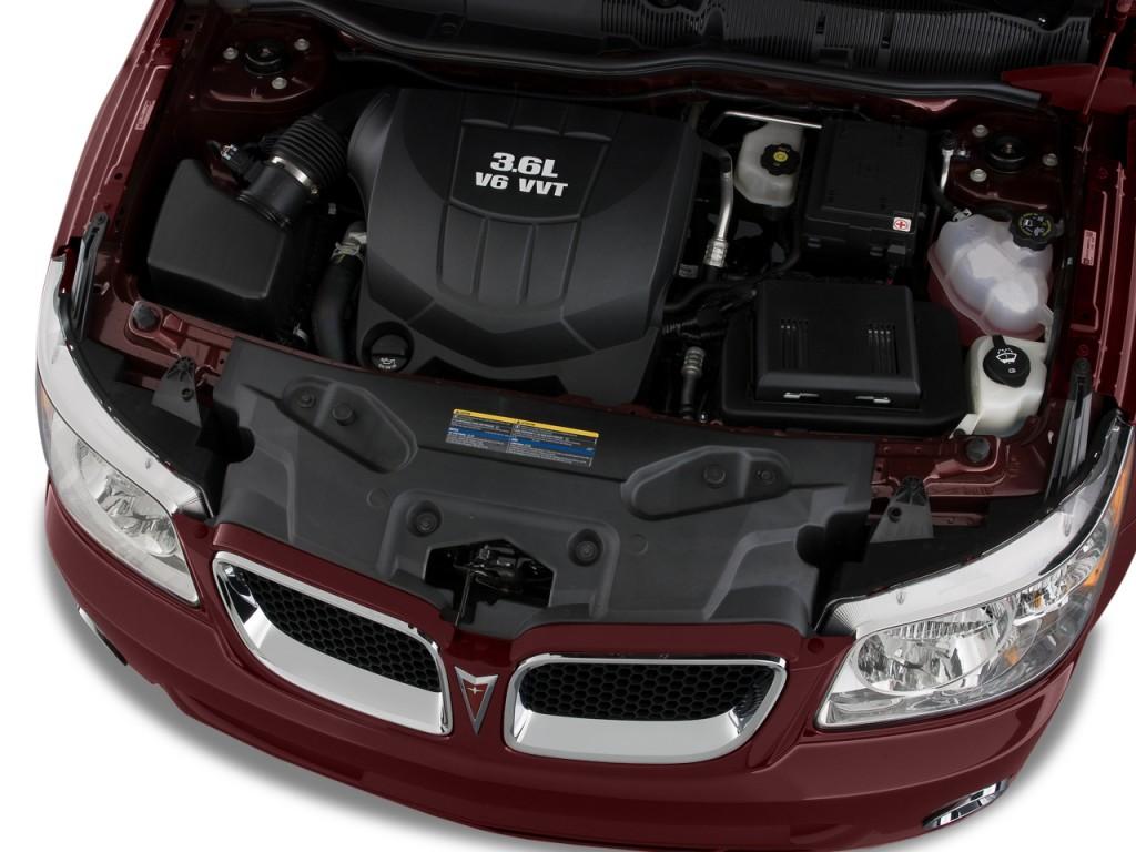Image: 2008 Pontiac Torrent FWD 4-door GXP Engine, size ...