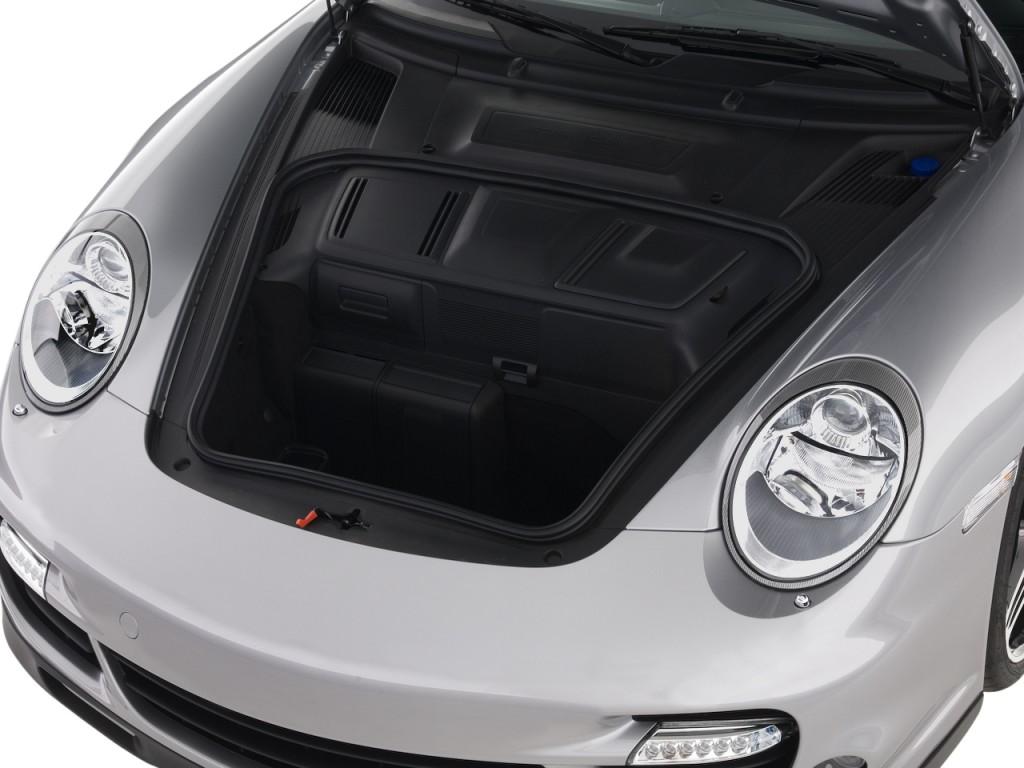 Image: 2008 Porsche 911 Carrera 2-door Coupe Turbo Trunk ...