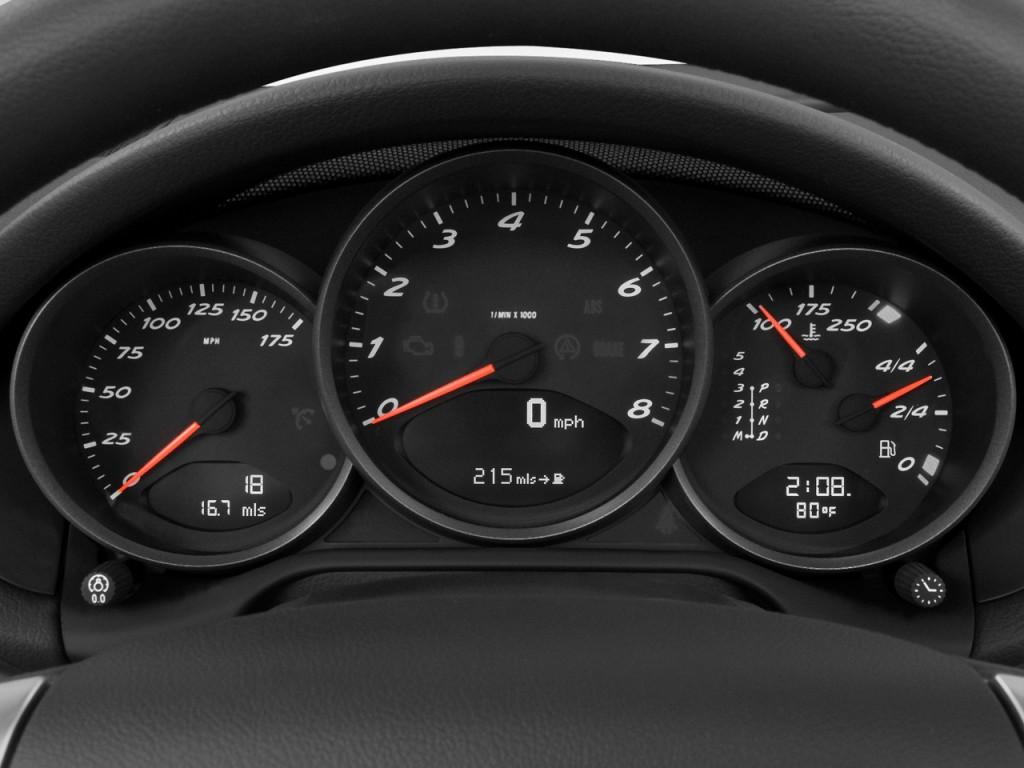 Image: 2008 Porsche Boxster 2-door Roadster Instrument ...