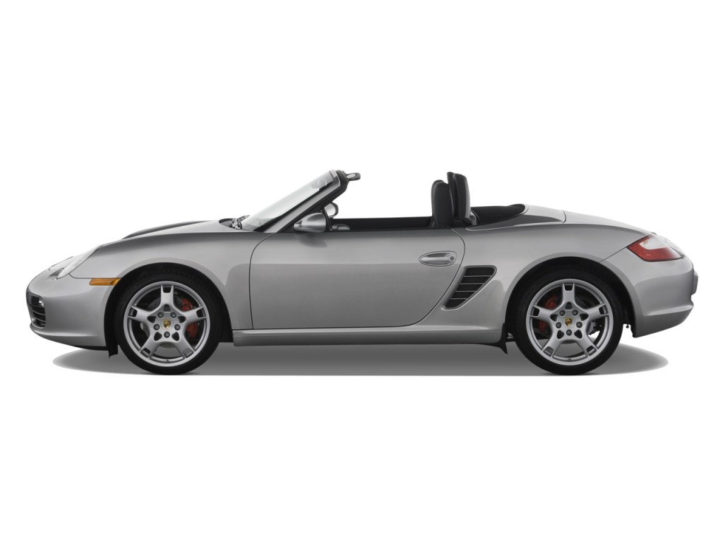 Image: 2008 Porsche Boxster 2-door Roadster S Side Exterior View, size: 1024 x 768, type: gif ...