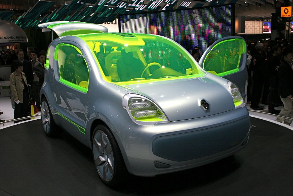 Renault To Preview Production EV at 2009 Frankfurt Motor Show