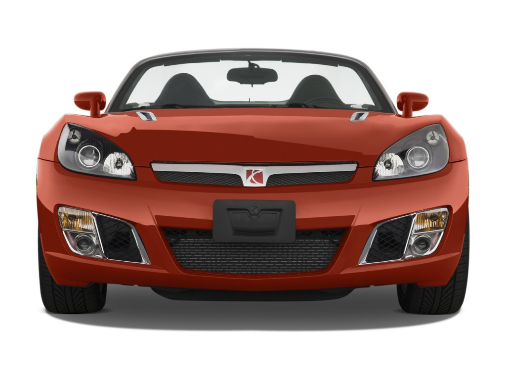 2008 Saturn Sky 2-door Convertible Red Line Front Exterior View