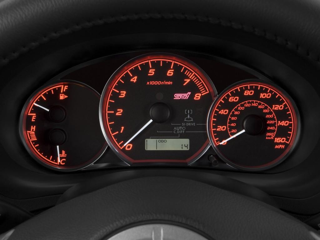 Image: 2008 Subaru Impreza 5dr Man STI Instrument Cluster ...
