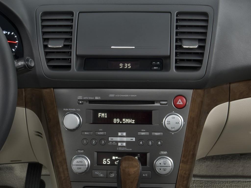 Image: 2008 Subaru Legacy Outback 4-door H4 Auto LL Bean w/Nav Instrument Panel, size: 1024 x ...