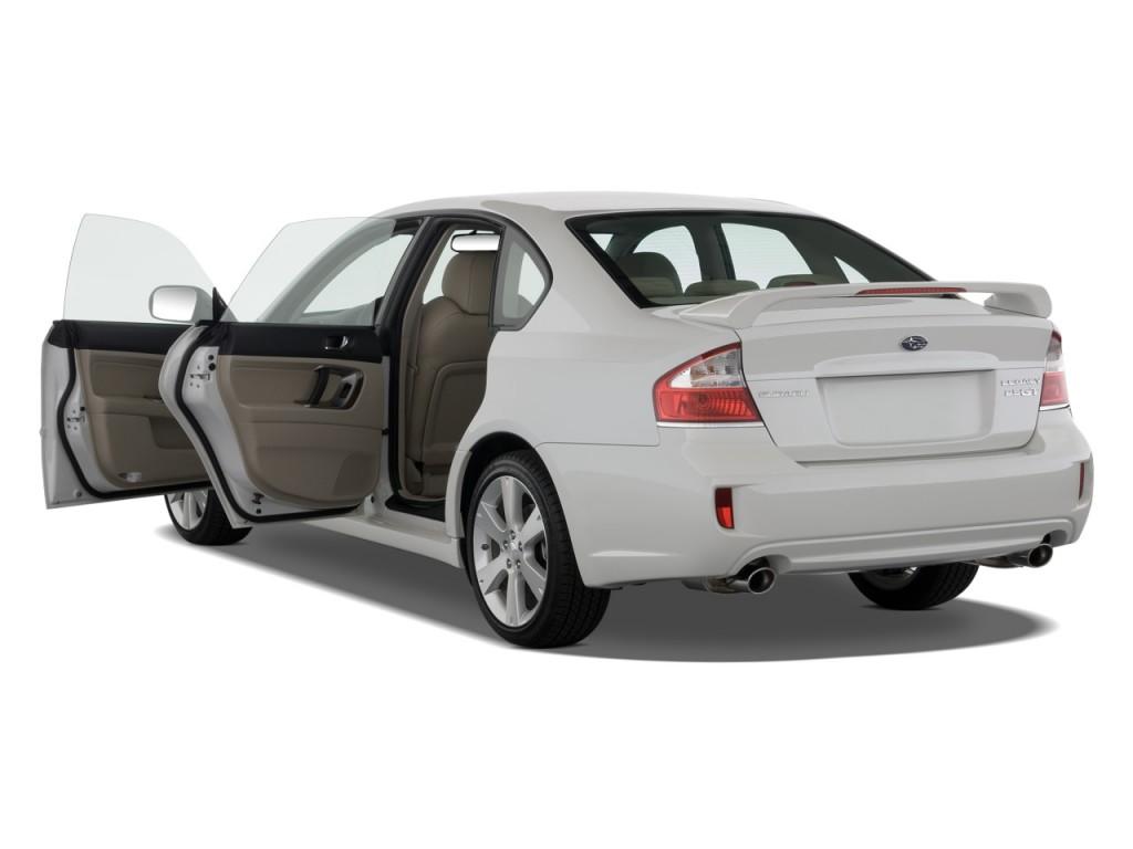 2008 Subaru Legacy Sedan 4-door H4 Auto GT Ltd Open Doors  sc 1 st  Green Car Reports & Image: 2008 Subaru Legacy Sedan 4-door H4 Auto GT Ltd Open Doors ...
