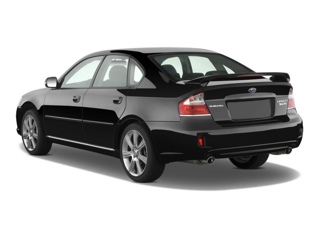 2008 Subaru Legacy Sedan 4-door H6 Auto 3.0R Ltd w/Nav Angular Rear Exterior View  sc 1 st  Green Car Reports & Image: 2008 Subaru Legacy Sedan 4-door H6 Auto 3.0R Ltd w/Nav ...