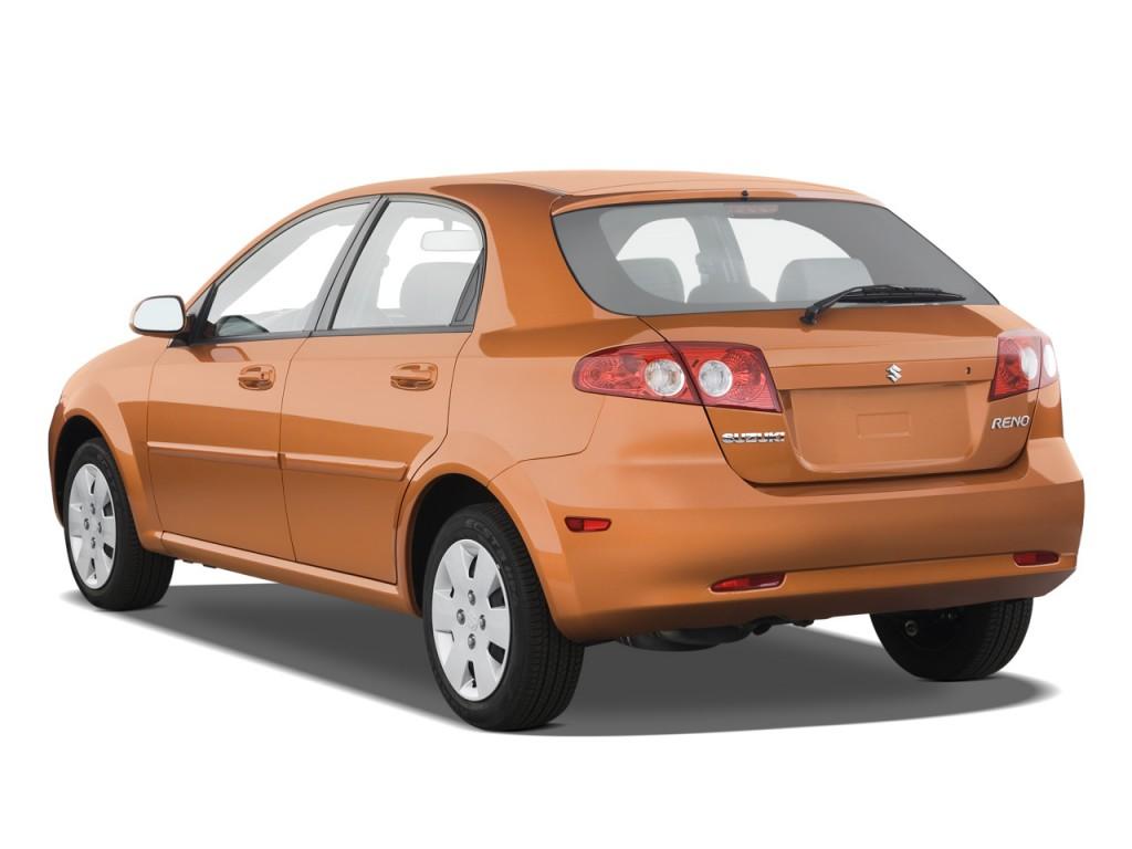 Image 2008 Suzuki Reno 4 Door Hb Auto Convenience Pkg Angular