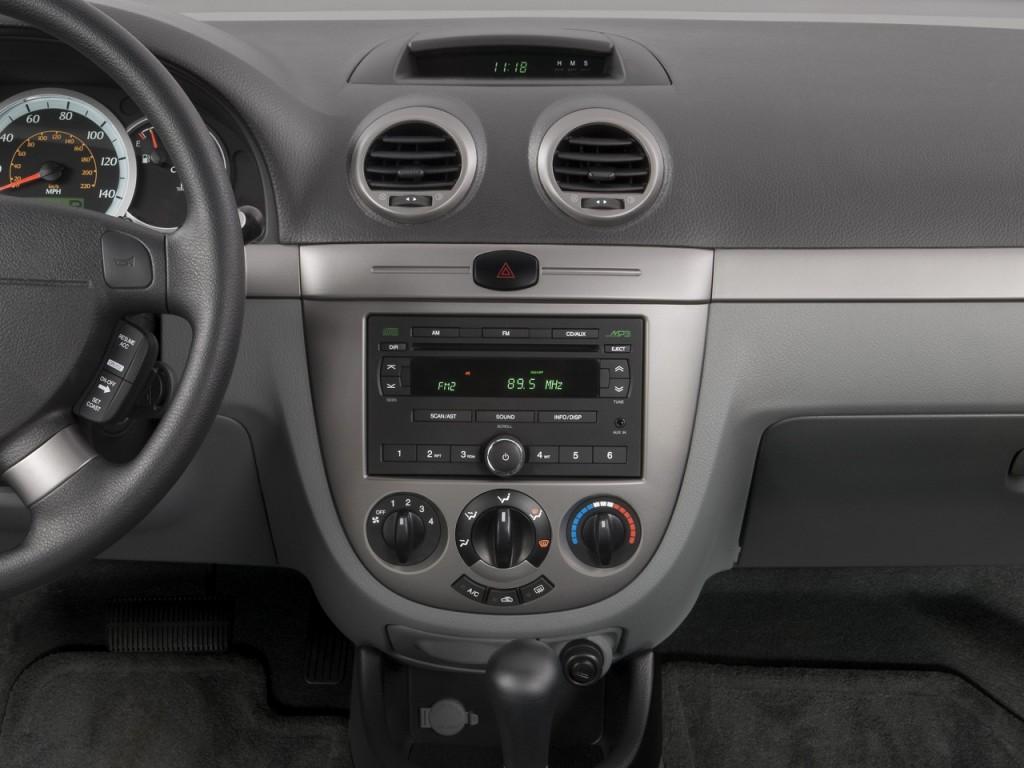 2008 suzuki reno 4 door hb auto convenience pkg instrument panel